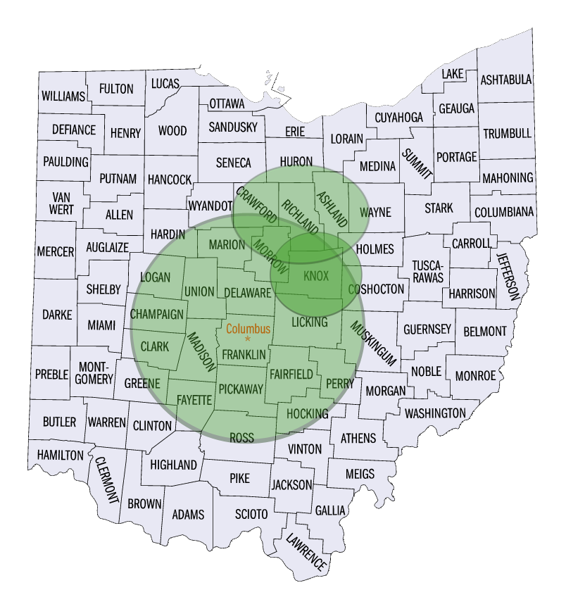 Ohio Marketing Map