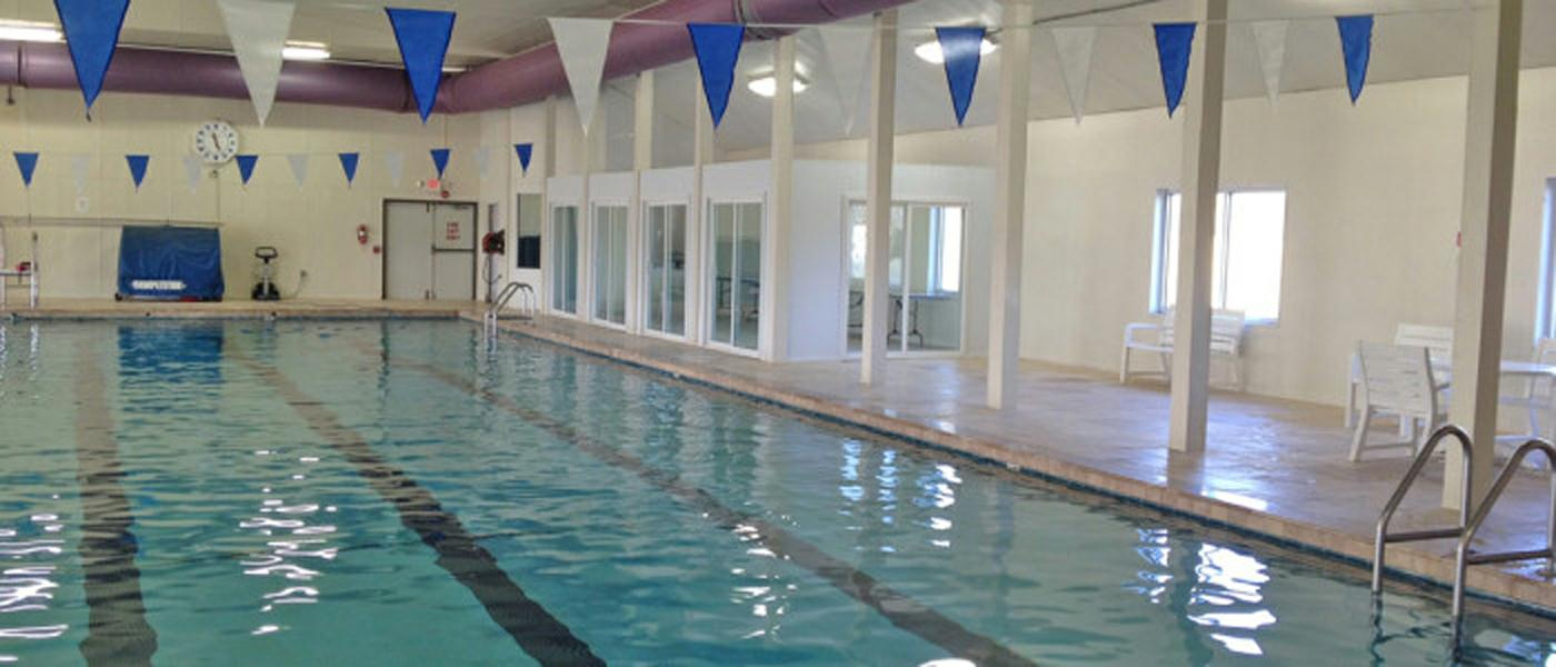 Indoor Pool at Floral Valley Community Center