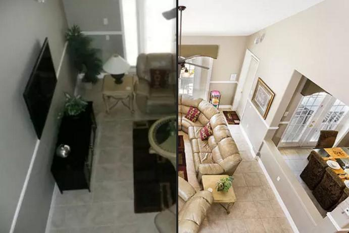 Before/After Living Area